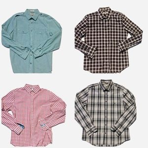 Men's Express fitted button downs Large Bundle 4